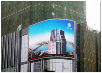 1R1G1B SMD Outdoor Advertising Billboard RGB Full Color dengan 6mm Pixel Pitch