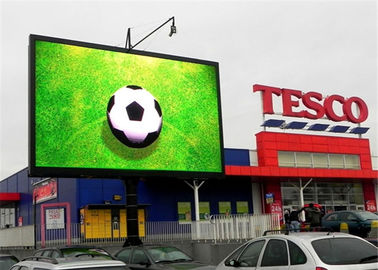 DIP Full Color LED Display Screen untuk Iklan Komersial / Vedio / Gambar